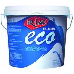 ER-ACRYL ECO 10lt Οικολογικό 100% ακρυλικό χρώμα εξωτερικών επιφανειών