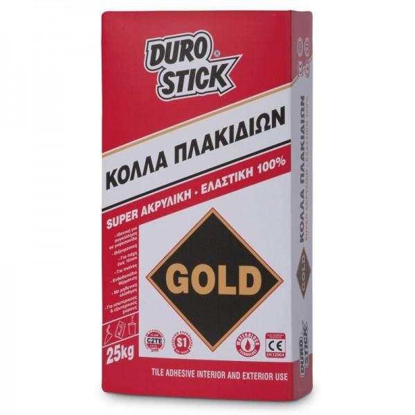 ΚΟΛΛΑ ΠΛΑΚΙΔΙΩΝ GOLD DUROSTICK 25 kg/ΠΑΛΕΤΑ 48 ΤΕΜΑΧΙΩΝ