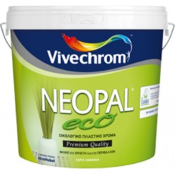 NEOPAL ECO Πλαστικό Οικολογικό Χρώμα VIVECHROM Κορυφαίας Ποιότητας 10lt